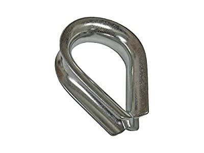 "3/8"" (10mm) Stainless Steel Chain Thimble for Boat Anchoring - Five Oceans"