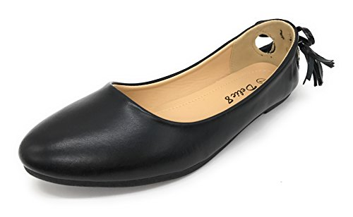 Blue Berry Easy21 Donna Casual Flats Balletto Cinturino Alla Caviglia Fashion Shoes Nero 72