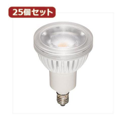 YAZAWA (25個セット) ハロゲン形LEDランプ4.3W電球色60°調光対応 LDR4LWWE11DX25 B078YHZ4S8