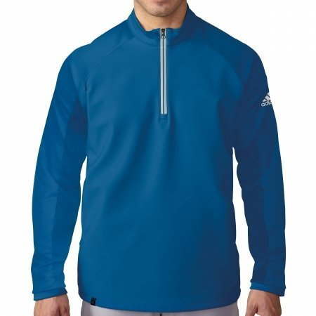 adidas Golf Men's Climacool Competition 1/4 Zip Layering Top, EQT Blue S, Large by adidas
