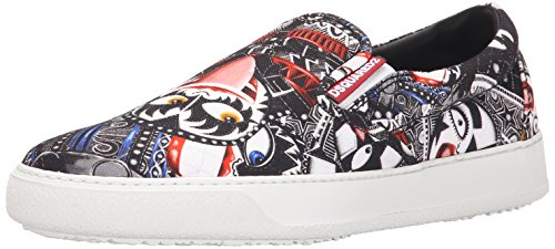 Dsquared2 Heren Karakter Instappers Fashion Sneaker Zwart