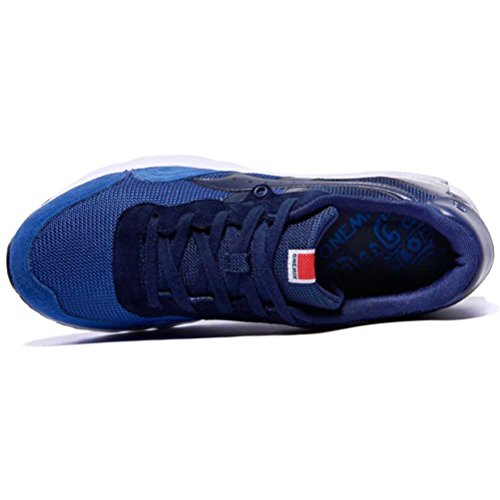 YiDiar Männer Athletisch Luftpolster Training Trail Laufschuhe Outdoor Jogging Sport Turnschuhe Blau
