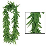 Tropical Fern Leaf Lei (green) Party Accessory  (1 count)