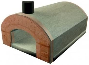Horno de leña Sorrento refractario prefabricado para exteriores ...