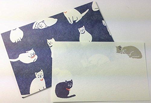 Daiso Japan Message Card Set Washi (Cat) Photo #2