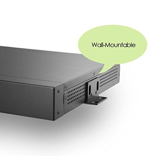 MITXPC M1U05 Mini 1U Rackmount Case with Front I/O Access, 250W 80+ Power Supply by MITXPC (Image #6)