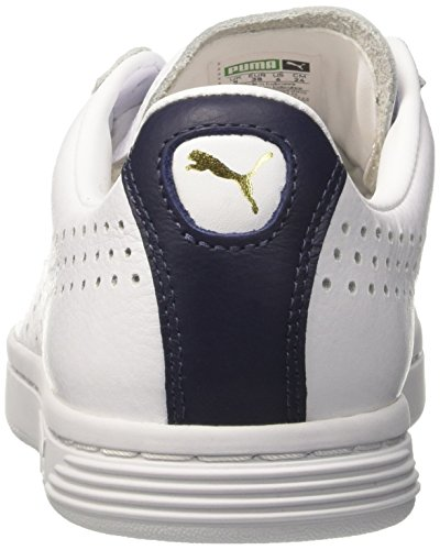 Nm Star Blanc White peacoat Sneakers Basses Adulte puma Puma Court Mixte E5qnEUx