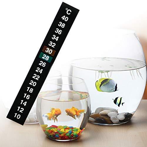 Temperature Gauges - 1pc Stick On Digital Thermometer Adhesive Aquarium Fish Tank Temperature Sticker Terrarium - Chalkboard Horse Holder Deodorizer Headboard Adhesive Alphabet Quarter Pencil Spl