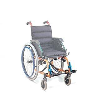 Repuesto - par de reposapiés para silla de ruedas cod. 27708: Amazon.es: Salud y cuidado personal