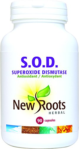New Roots SOD Superoxide Dismutase 90 Capsules Discount