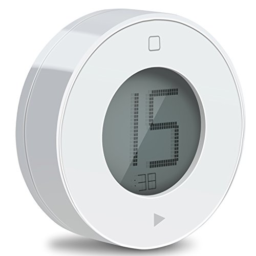 Amazon.com: Tribesigns Digital Kitchen Timer With Large LCD Display U0026 Alarm  Magnetic Back, The Simplest And Easy To Use Timer (White): Kitchen U0026 Dining