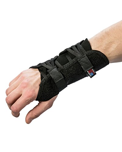 (Swede-O PowerWrap Wrist Brace, Black - Left)