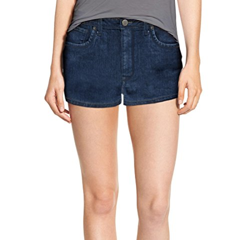 (Womens Classic Comfy 5 Pockets Denim Shorts SH22884 Medium BLU 11)
