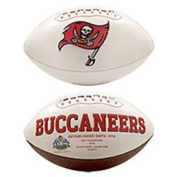 NFL Tampa Bay Buccaneers Official Full-Size Autograph Football