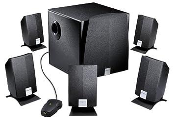 creative computer speakers. creative labs inspire 5200 5.1 computer speakers 6-speaker black