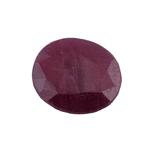 Be You 6.18cts Rouge sombre Couleur Facettes Ovale Forme Naturel Indien Rubis