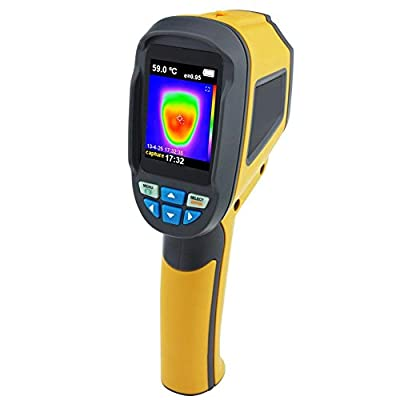 HT-02D Handheld Digital IR Infrared Thermal Imaging Camera Thermometer