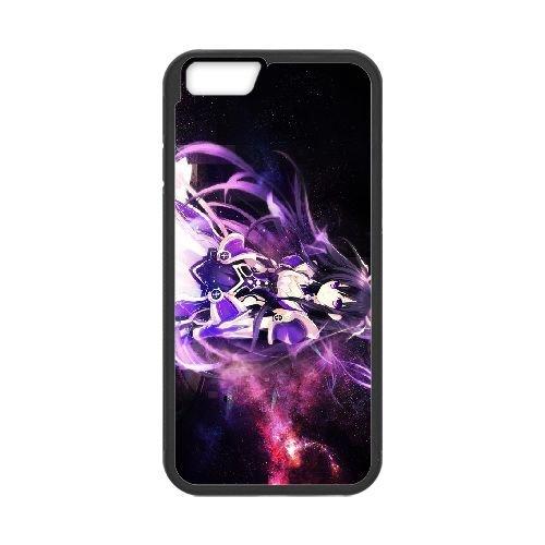 Date A Live Yatogami Tohka coque iPhone 6 Plus 5.5 Inch Housse téléphone Noir de couverture de cas coque EBDXJKNBO13801
