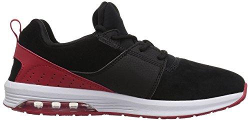 Zapatillas De Skate Dc Para Hombre Heathrow Ia Negras / Atléticas Rojas