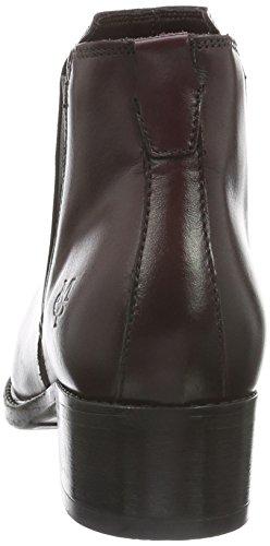 Marc O'Polo Chelsea, Zapatillas de Estar por Casa para Mujer Rojo - Rot (Wine 385)