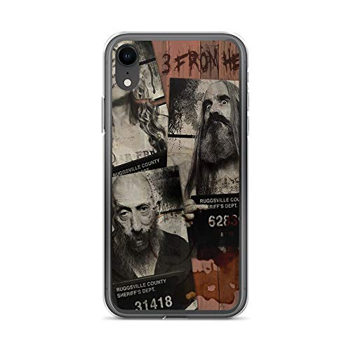iPhone XR Case Anti-Scratch Motion Picture Transparent Cases Cover New Movie from Rob Zombie 3 from Hell All New Mugshots Action Movies Video Film Crystal