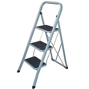 3 Step Ladder  sc 1 st  Amazon UK & 3 Step Ladder: Amazon.co.uk: Kitchen u0026 Home islam-shia.org