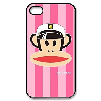 Amazon.com: DIY Paul Frank Plastic Case for iPhone 4, iPhone ...