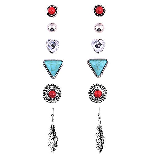 Sundear Assorted Earring Antique Turquoise