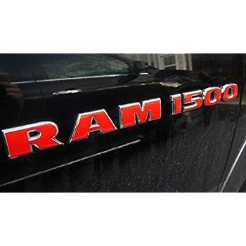 RAM 4x4 door /& tailgate emblem DECAL STICKER OVERLAYS fits 2009 2010 DODGE RAM