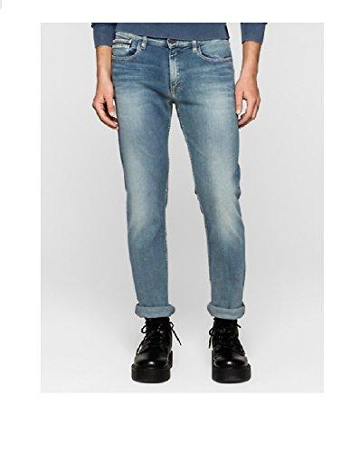 Straight Jeans Blue Calvin Light True Klein SEwBqPZxv6