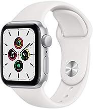 Apple Watch Serie SE 40mm GPS/Caixa de Alumínio Prata com Pulseira Esportiva Branca