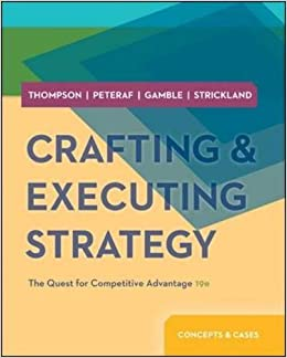 Crafting executing strategy the quest for for Crafting and executing strategy cases