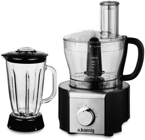 H.Koenig MX17 - Procesador de alimentos (600 W): Amazon.es: Hogar