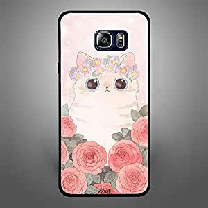 Samsung Galaxy Note 5 Cat Roses