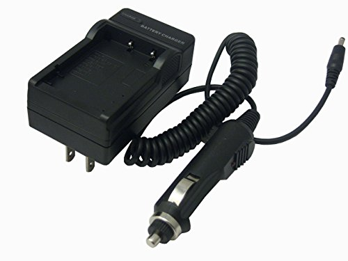 Home / Travel Charger with Car Adapter for Fuji NP-60 Camera/Camcorder (Fuji np40, np60, np95, np120, Samson SLB-0837, Panasonic S004E, Kodak K5001) by CyberTech by CyberTech (Image #1)