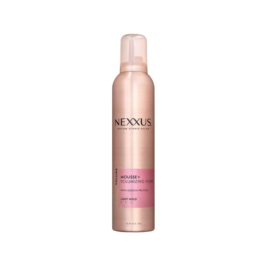 Nexxus Mousse Plus Volumizing Foam, for Volume,10.6 oz