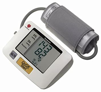 Panasonic Upper Arm Blood Pressure Monitor - Tensiómetro (AA, 33 x 93 x 104 mm): Amazon.es: Hogar