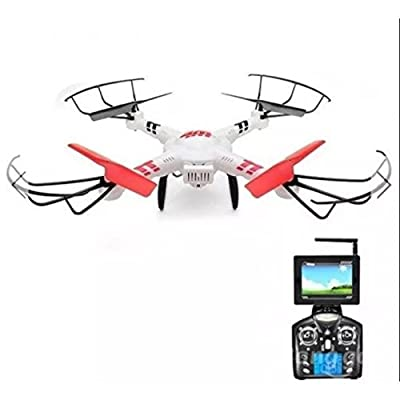 WLtoys V686 V686G 5.8G Video FPV Drone RC Quadcopter Helicopter + 720P HD Camera from Olymstore