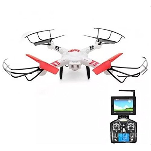 WLtoys V686 V686G 5.8G Video FPV Drone RC Quadcopter Helicopter + 720P HD Camera (686 Manual)