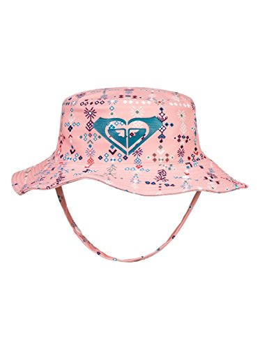 Roxy Girls' Big Bobby Youth Bucket Hat, Peaches N Cream AZAZ, 1SZ -