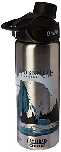 CamelBak Chute Vacuum Insulated Stainless National Parks Water Bottle, Yosemite, 20 oz (Blue Ridge Parkway Best Time Of Year)