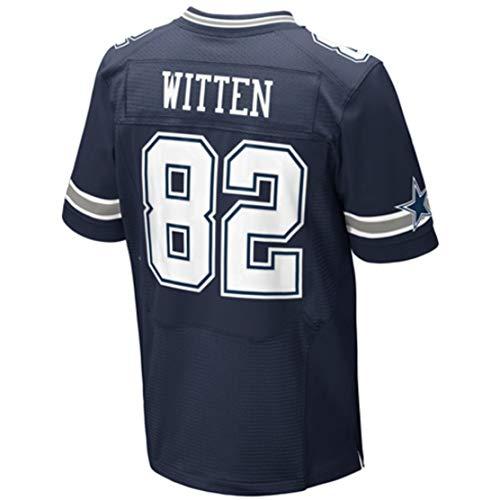 Intuit Fast Mens Jason_Witten_82_Navy-1 Fans Replica Jersey Sportswear Custom Football Game Limited Elite Legend Jerseys ()
