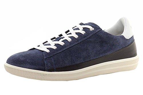 Diesel Mens Dineckt S-naptik Fashion Sneaker Blu Nights / Sandshell