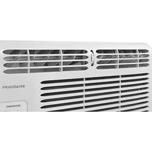 Frigidaire ffra0511r1 5 000 btu 115v window mounted for 12 inch high window air conditioner