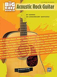 Alfred The Big Easy Book of Acoustic Guitar ()