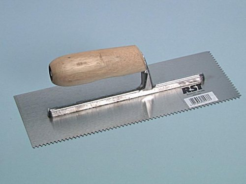 A2 Trowel Notch : Marshalltown sd v notched trowel durasoft handle