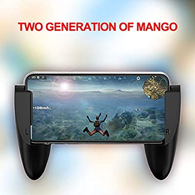 PUBG Mobile Game Controllers Gamepad, Mobile Game Trigger Joystick Handheld Gamepad for Android iPhone, Portable, Foldable, Lightweight, Durable