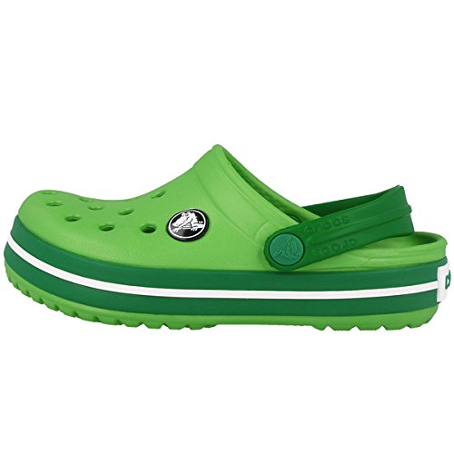 0f6a9a5a02682b Crocs Kids Crocband Lime-Kelly Green (10998-32G)  Amazon.fr ...