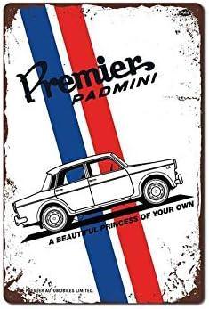 Metal Tin Sign PREMIER PADMINI Decor Bar Pub Home Vintage Retro Poster