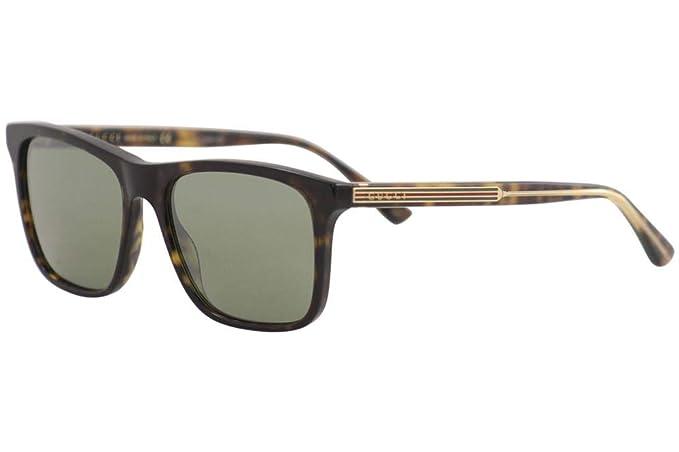 Gucci GG0381S-008 Gafas de Sol, Havana/Brillo, 57 para ...